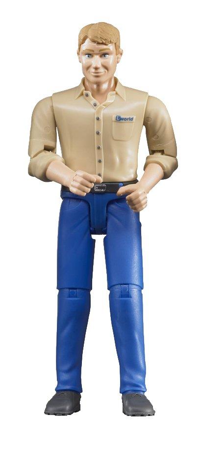 Image pour Bruder figurine Bworld Man à partir de ColliShop