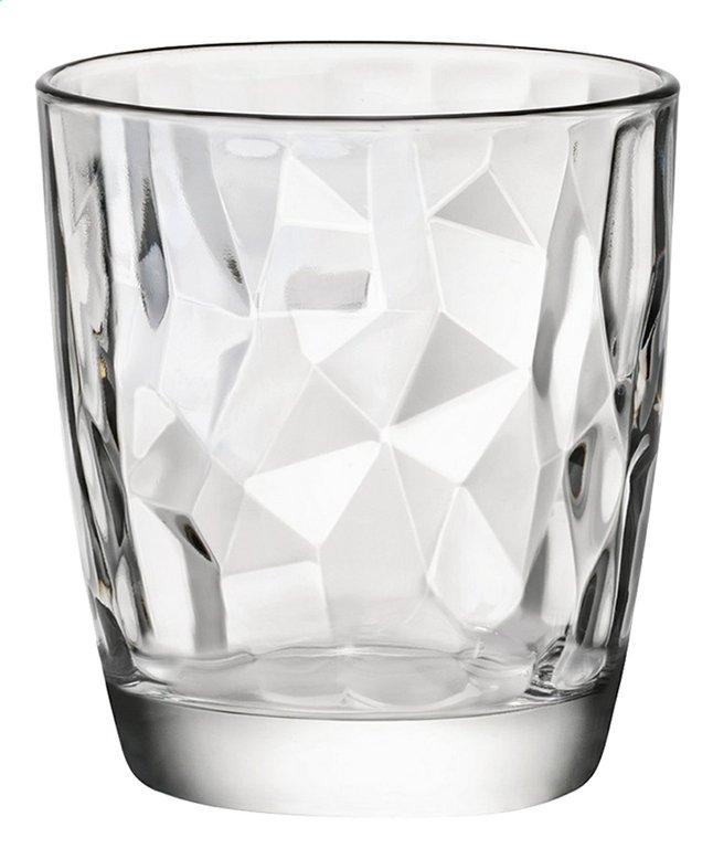 Image pour Bormioli Rocco 6 verres à eau Diamond Tumbler 39 cl transparent à partir de ColliShop