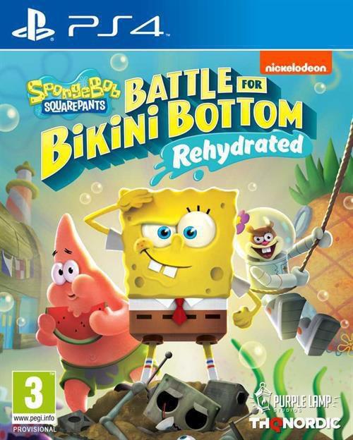 Afbeelding van PS4 Spongebob Squarepants Battle for Bikini Bottom Rehydrated ENG/FR from ColliShop
