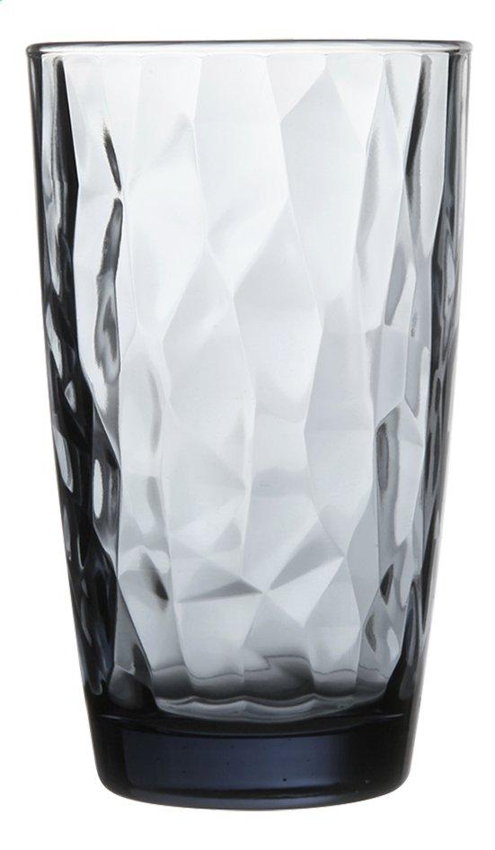 Bormioli Rocco 6 verres à eau Diamond Tumbler 47 cl ocean