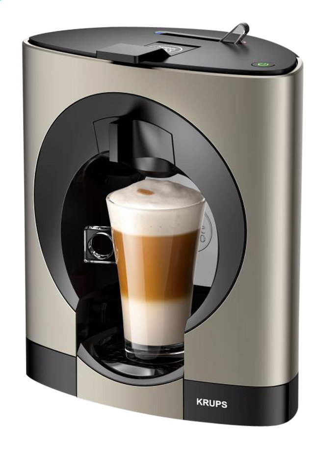 krups espressomachine dolce gusto oblo kp110t10 titanium collishop. Black Bedroom Furniture Sets. Home Design Ideas