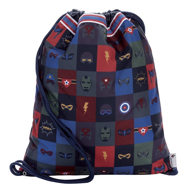 Image pour Jack Piers sac de gymnastique Superheroes à partir de ColliShop