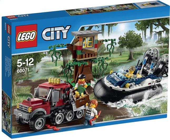 Image pour LEGO City 60071 L'arrestation en hydroglisseur à partir de ColliShop