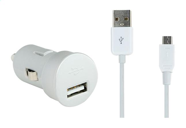 Afbeelding van bigben autolader micro-USB 1m from ColliShop