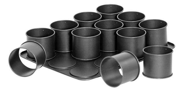 Image pour Zenker 12 cercles à pâtisserie à partir de ColliShop