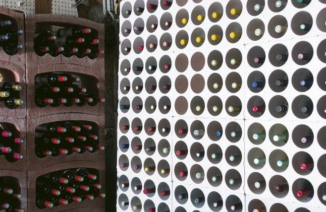 Image pour Casier à vin empilable pour 12 bouteilles long à partir de ColliShop