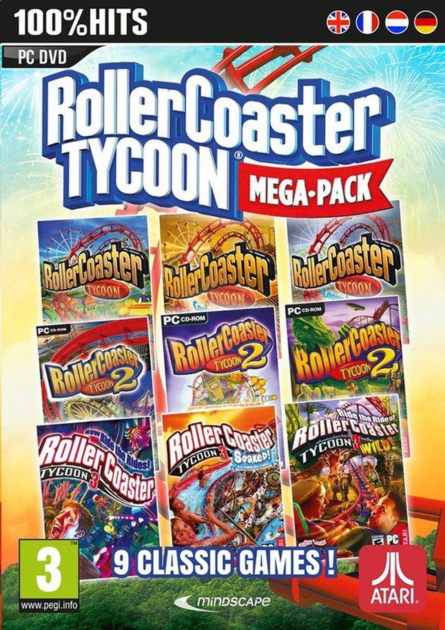 Image pour PC Roller Coaster Tycoon Mega Pack FR/ANG à partir de ColliShop