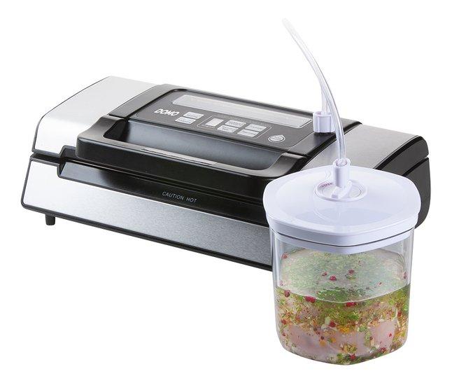 20 x 30 cm Leifheit Machine de mise sous vide alimentaire Vacu Power 500 appareil pour emballage sous vide 10 sacs sous vide alimentaire