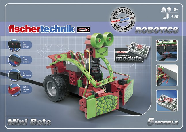 Afbeelding van fischertechnik Mini Bots from ColliShop