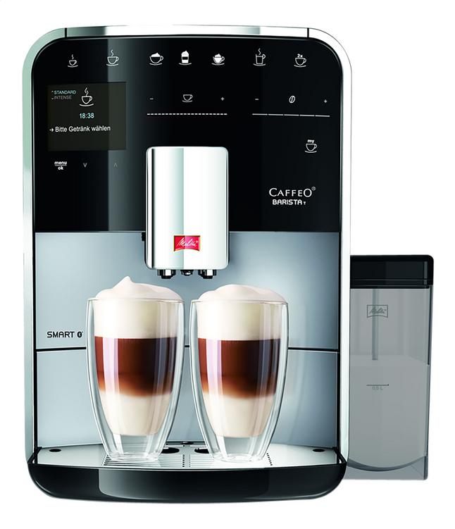 Afbeelding van Melitta Volautomatische espressomachine met melkopschuimer Barista Smart T F830-101 zilver/zwart from ColliShop