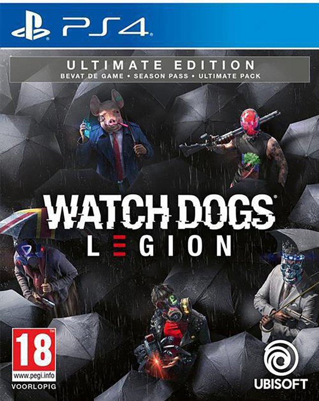 Image pour PS4 Watch Dogs: Legion - Ultimate Edition FR/ANG à partir de ColliShop