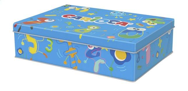 Afbeelding van Carioca viltstiften in metalen doos blauw from ColliShop