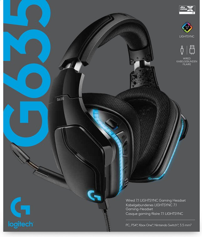 Afbeelding van Logitech Headset G635 from ColliShop
