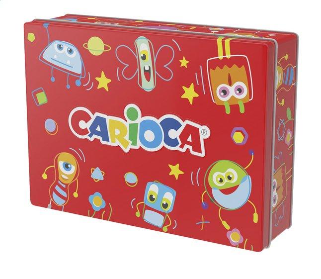 Carioca Viltstift in metalen doos rood