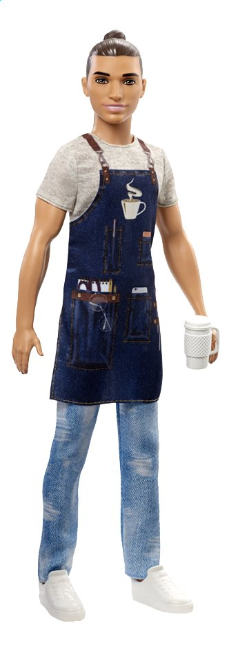 Barbie poupée mannequin Careers Ken Barista