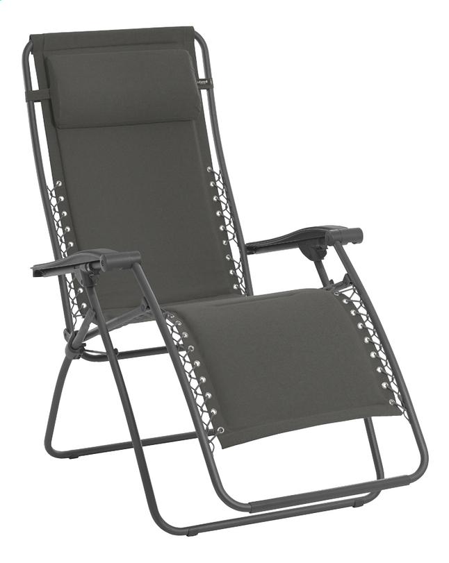Image pour Lafuma Chaise longue RSX ardoise à partir de ColliShop