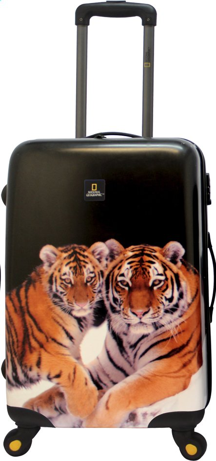 Afbeelding van National Geographic Harde reistrolley Tiger Spinner 79 cm from ColliShop