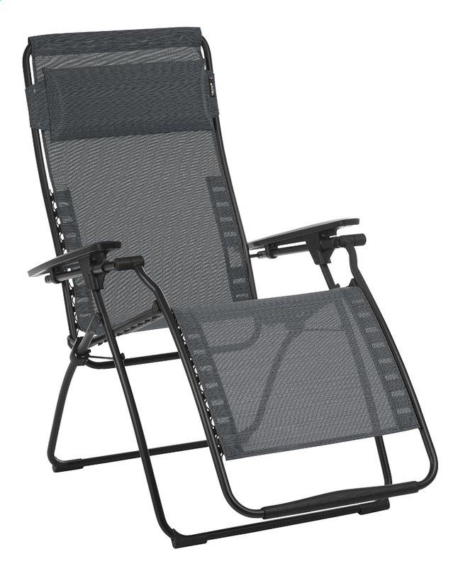 Image pour Lafuma Chaise longue Futura Batyline Duo obsidian à partir de ColliShop