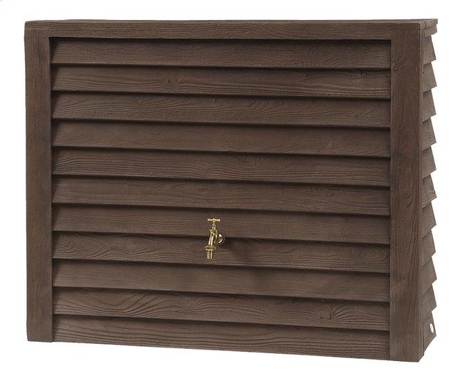 Image pour Garantia Tonneau de pluie Woody aspect bois foncé 350 l à partir de ColliShop