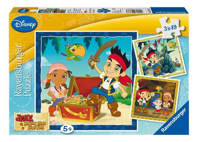 Image pour Ravensburger puzzle 3 en 1 Jake et le monde des Pirates à partir de ColliShop