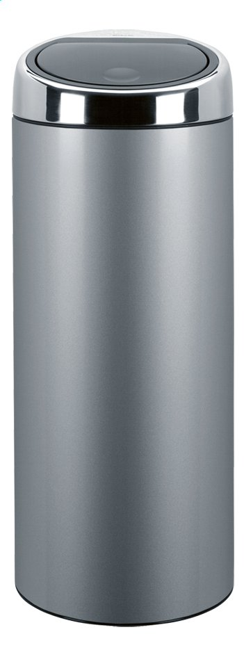 Afbeelding van Brabantia afvalemmer Touch Bin metallic grey 30 l from ColliShop