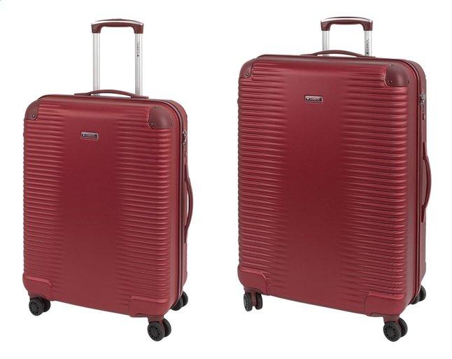 Image pour Gabol Set de valises rigides Balance Rojo red à partir de ColliShop