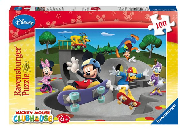 Afbeelding van Ravensburger puzzel Mickeys vrolijke Skate Club from ColliShop