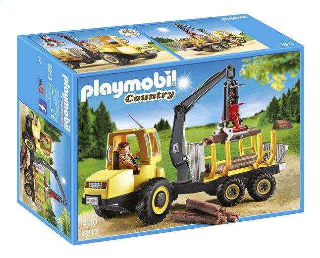 Afbeelding van Playmobil Country 6813 Houttransport met kraan from ColliShop