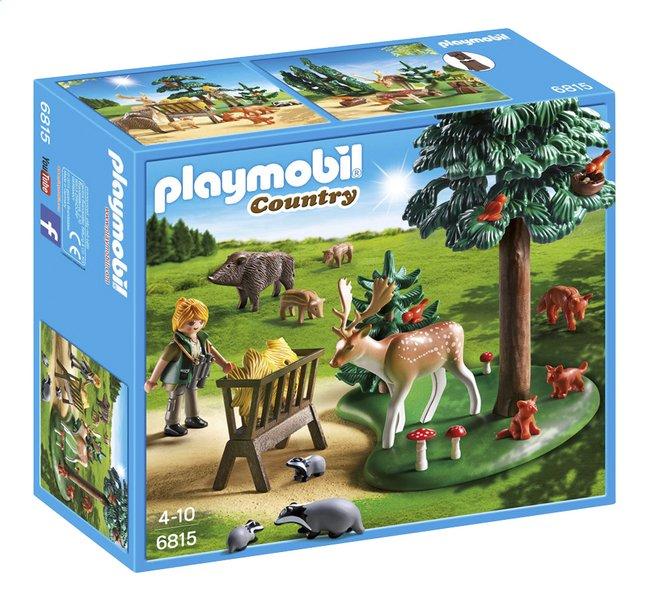Afbeelding van Playmobil Country 6815 Voederplaats voor bosdieren from ColliShop