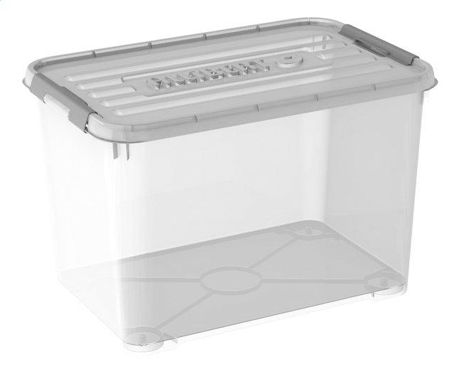 Image pour Allibert Boîte de rangement Handy + transparent 65 l à partir de ColliShop