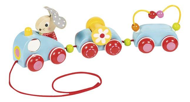 Image pour Goula jouet à tirer Bunny's train à partir de ColliShop