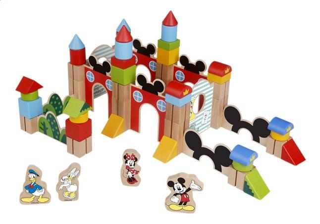 Afbeelding van Disney Junior Wooden Blocks 60-delig from ColliShop