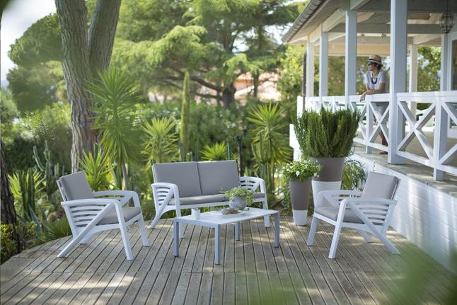 Image pour Grosfillex Ensemble Lounge Corfu à partir de ColliShop