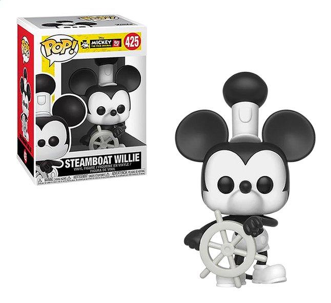 Afbeelding van Funko Pop! figuur Mickey Mouse Steamboat Willie from ColliShop