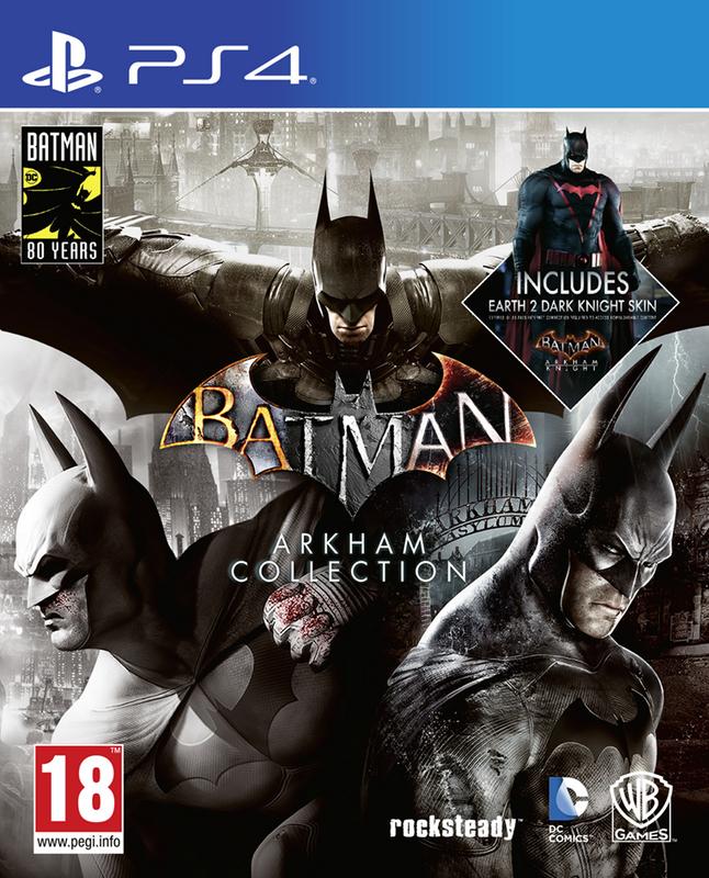 Image pour PS4 Batman Arkham Collection FR/ANG à partir de ColliShop