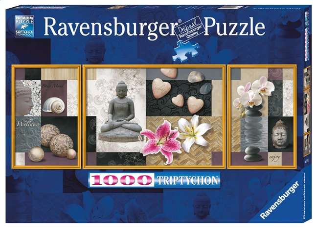 Afbeelding van Ravensburger puzzel Wellness from ColliShop