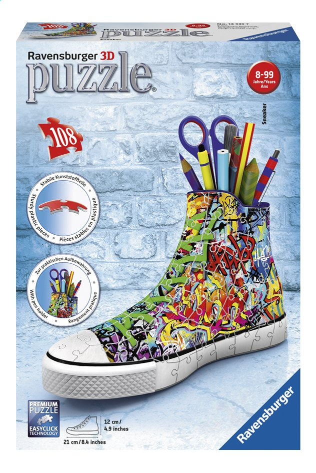 Afbeelding van Ravensburger 3D-puzzel Sneaker Graffiti from ColliShop