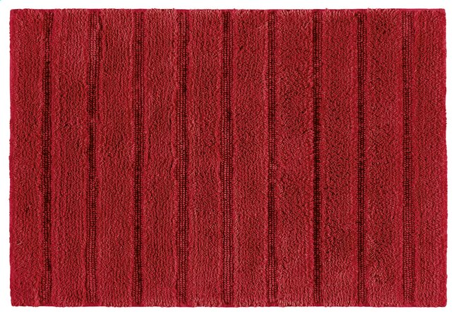 Image pour Casilin tapis de bain Nevada rouge 70 x 120 cm à partir de ColliShop