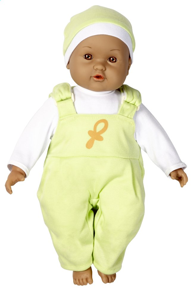 Image pour DreamLand poupée souple Ma première poupée salopette verte à partir de ColliShop