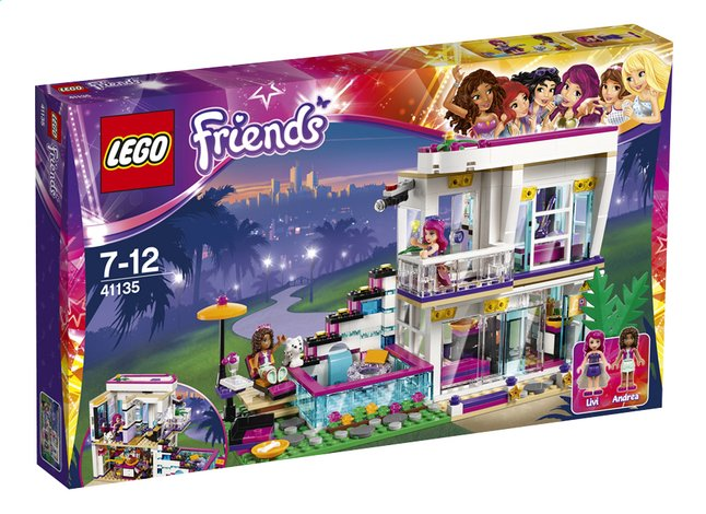 Afbeelding van LEGO Friends 41135 Popsterrenhuis from ColliShop
