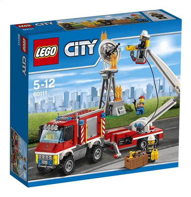 Image pour LEGO City 60111 Le camion d'intervention des pompiers à partir de ColliShop