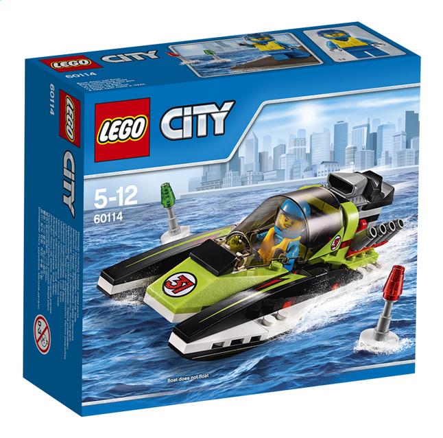 Afbeelding van LEGO City 60114 Raceboot from ColliShop
