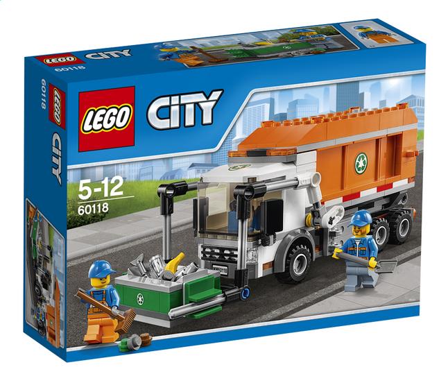 Image pour LEGO City 60118 Le camion poubelle à partir de ColliShop