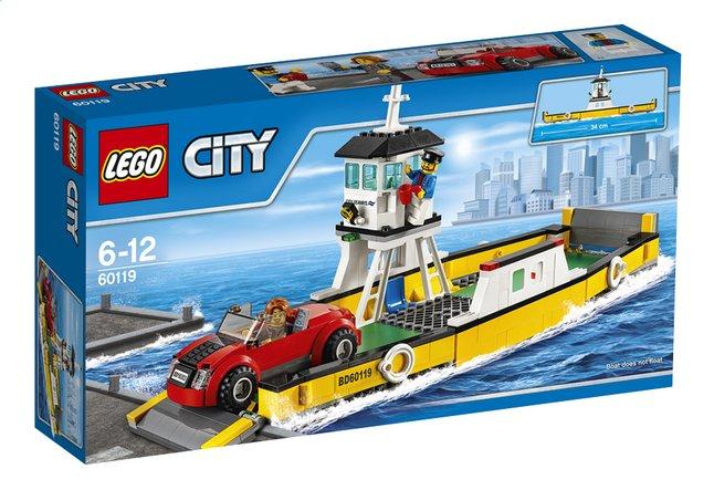 Image pour LEGO City 60119 Le ferry à partir de ColliShop