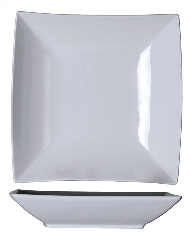Afbeelding van Cosy & Trendy 6 diepe borden Avantgarde L 22,5 x B 22,5 cm from ColliShop