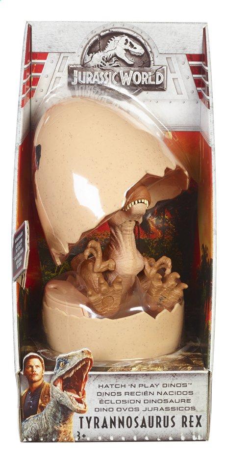 Afbeelding van Jurassic World figuur Hatch 'n Play Dinos Tyrannosaurus Rex from ColliShop