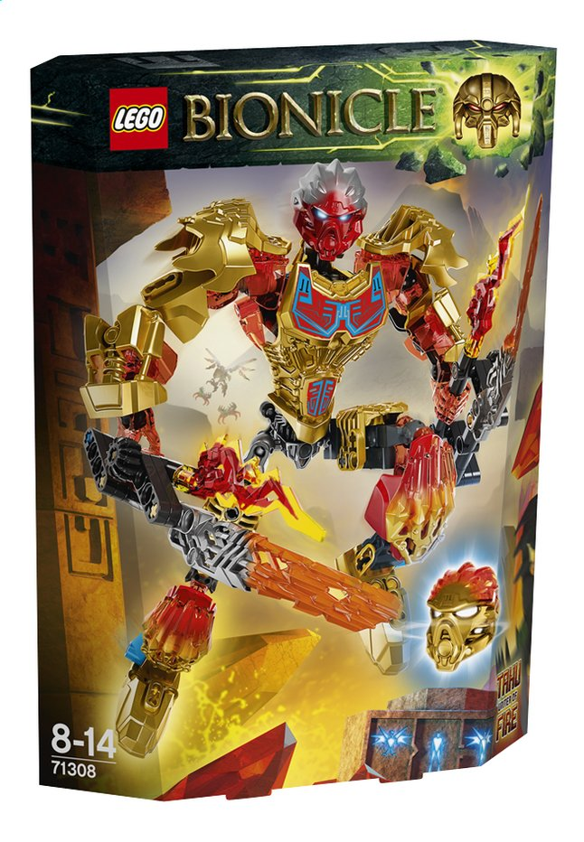 Image pour LEGO Bionicle 71308 Tahu Unificateur du Feu à partir de ColliShop