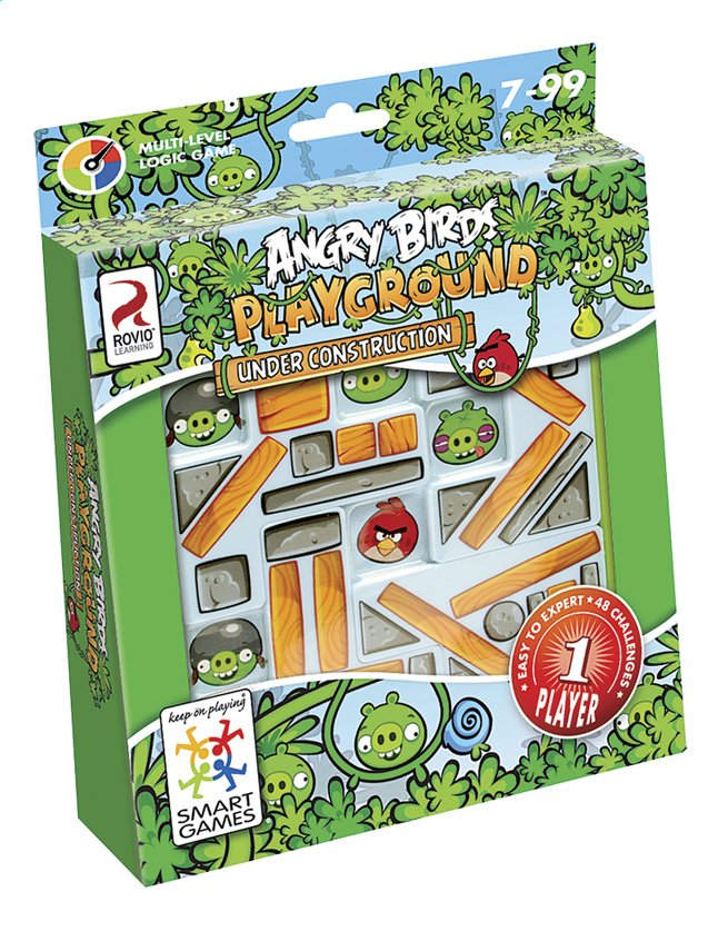 Afbeelding van Angry Birds Playground Under Construction from ColliShop