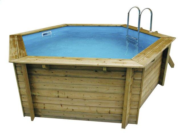 Afbeelding van Ubbink houten zwembad Azura diameter 4,10 m from ColliShop