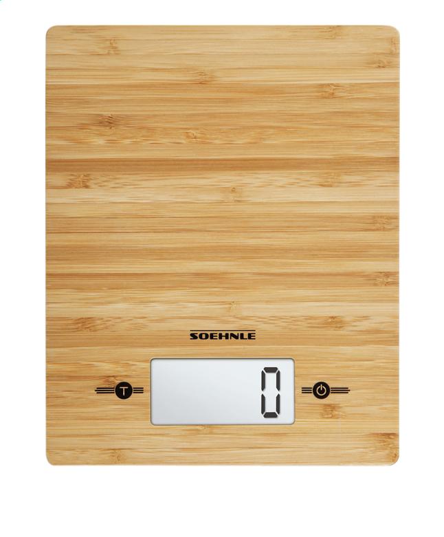 Afbeelding van Soehnle Digitale keukenweegschaal Bamboo from ColliShop